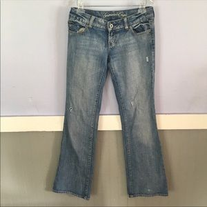 🌺 LONG American Eagle lightly distressed jeans 4